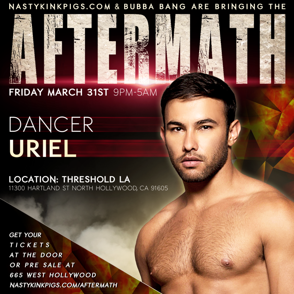 Look who's coming to AFTERMATH March 31st! AM-UleiAM-UrielIMG_7585IMG_7658