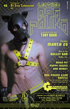 Leather Dog Pound @ The Bullet Bar | Los Angeles | California | United States